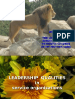 20090614 - Leadership Qualities in Service Organizations - 19s - Lions Club -