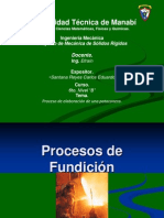 03 Procesos de Fundición
