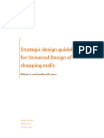 universal design in shopping malls , dissetation synopsis