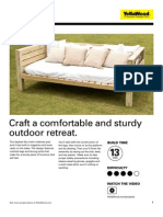 Yellawood Daybed 121024