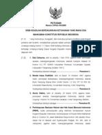 Putusan Mahkamah Konstitusi Nomor 2/PUU-VII/2009