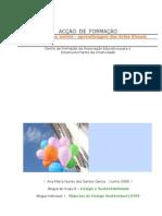 Relatório da acção Internet no ensino-aprendizagem das Artes Visuais ,doc