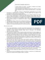 Procesos y Procedimientos Con Las Redes Afectivas