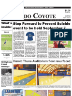 Murdo Coyote, August 29, 2013