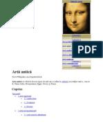 Artă antică