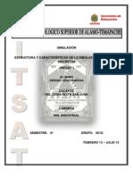 Estructura y Carateristicas de La Simulacion