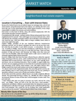 Newsletter Vol 11 Market Watch Sept 2013