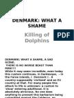 DENMARK-KILLING OF DOLPHINS