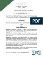 Acuerdo PSAA13-9962 Ajusta y Adopta Medidas de Descongestion