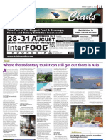 Jakarta Post Magazine features Kamu Lodge and La Residence Hotel & Spa in their latest Monday issue, 26th August 2013