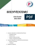 Estructura de Agosto de 2013.