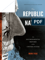 The Republic of Nature An Environmental History of the United States