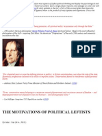 The Motivations of Political Leftists