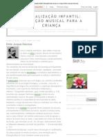 Musicalização Infantil_ Educação Musical para a Criança_ Emile Jacques Dalcroze