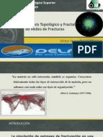 Analisis Topologico y Fractal de Redes de Fracturas