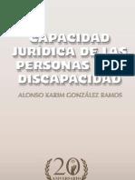 capacidad juridica de las personas con discapacidad  marcado
