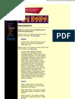 Bhabha - Bibliography