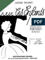Tansman - Pour Les Enfants, Vol.2 (Pf)[1]