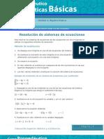 Resolución de sistemas de ecuaciones MBS14_A1_01