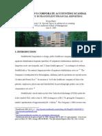 Accounting Fraud at HealthSouth