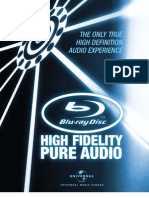 High Fidelity Pure Audio English