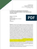 EL SENTIDO DEL DIAGNÓSTICO PSICOLÓGICO (2)