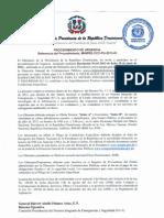 Resolución Procedimiento MINPRE-CCC-PU-2013-01
