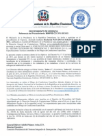 Resolución Procedimiento MINPRE-CCC-PU-2013-03
