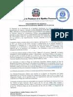 Resolución Procedimiento MINPRE-CCC-PU-2013-04