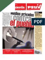 Medios privados contra el pueblo