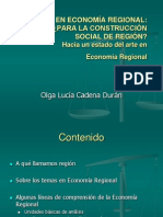 Economia Regional