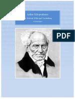 Arthur Schopenhauer Die Welt Als Wille Und Vorstellung