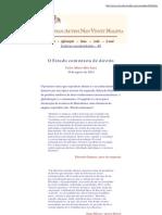 Olavo de Carvalho - O Estado Comunista de Direito