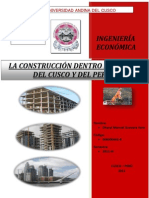 Construccion PBI Del Cusco