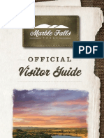 Official Marble Falls Visitor Guide