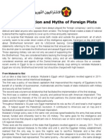 Counter-Revolution and Myths of Foreign Plots