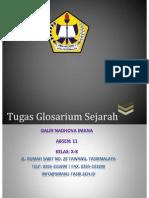 GLOSARIUM SEJARAH