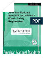 ANSI A14.3-2002 Standards for Ladders