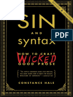 Sin & Syntax by Constance Hale - Excerpt