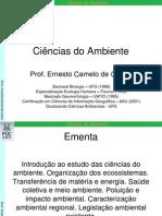Ciencias Do Ambiente 01_Introducao