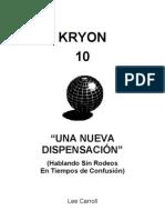 Lee Carroll - Kryon 10 - Una Nueva Dispensacion