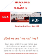 Marca Pais y El MADE In