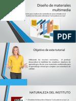 Diseño de materiales multimedia