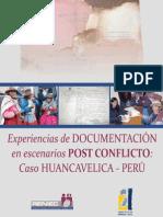 Experiencias de Documentacion en Escenarios Port Conflicto Huancavelica Peru