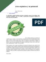 Perú Productos orgánicos y su potencial exportador