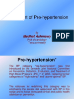 Treatment of Pre-Hypertension