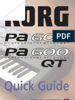 Pa600 Quick Guide v100 (English)