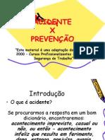 Acidente X Prevenção_slide
