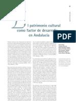 El patrimonio cultural como factor de desarrollo en Andalucía
