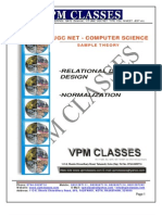 Vpm Classes - Sample Theory _new Pattern_ Ugc Net Comp. Sci
